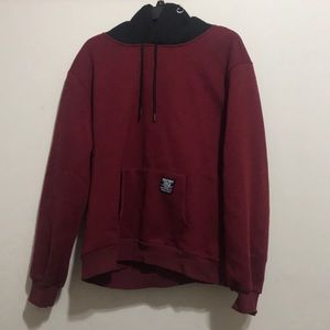 Other - Maroon, Black, and White Hoodie